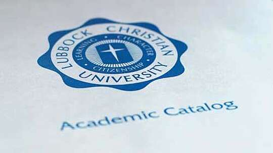 LCU Seal with Academic Catalog