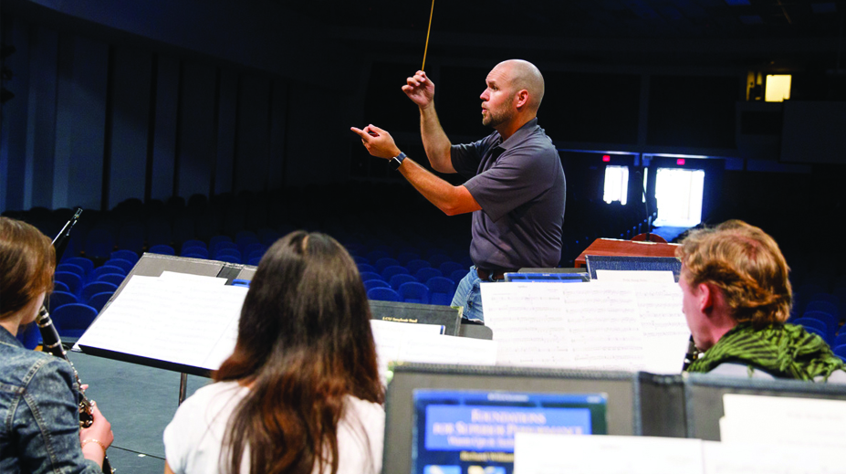 LCU Director of Bands Named to International School Bandmaster Fraternity